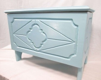 Engraved Keepsake Chest ~ Painted. *Free Shipping*