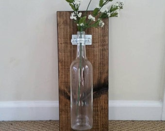 Rustic Wall Sconce Vase