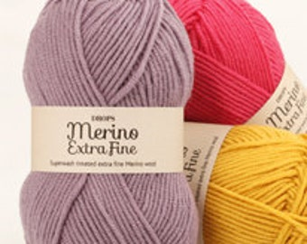 Drops Merino Extra Fine Yarn Superwash