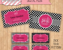 Perfectly Posh Business Card Marketing Materials Direct Sales Digital File Printable