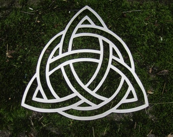 Metal Christian Trinity Knot / Celtic Triquetra