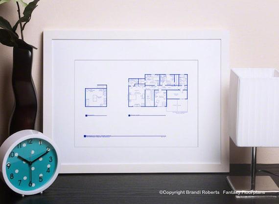 Simpsons house floor layout