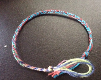 2 FOR 1 Multicolor braided friendship bracelets