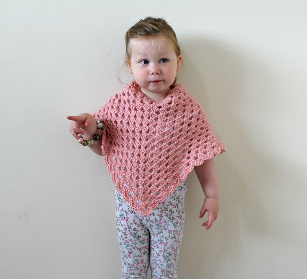 Crochet Toddler Poncho – Jerusalem House