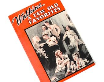 Fantastic 1930s Watkins Promotional Songbook