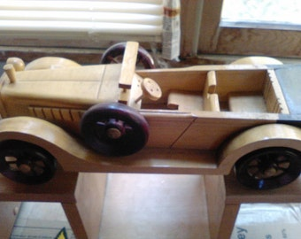 vintage wooden toy convertable