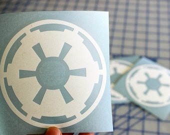 Imperial Logo decal.. Star Wars Imperial sticker.. Imperial sticker.. Imperial decal.. Star Wars Imperial decal.. Imperial vinyl decal..