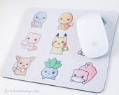Pokemon Mousepad