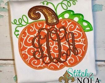 Orange Swirl Pumpkin Bubble, Tee, Gown, or Bodysuit