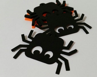 Halloween Itsy Bitsy Spider Die Cut Tags