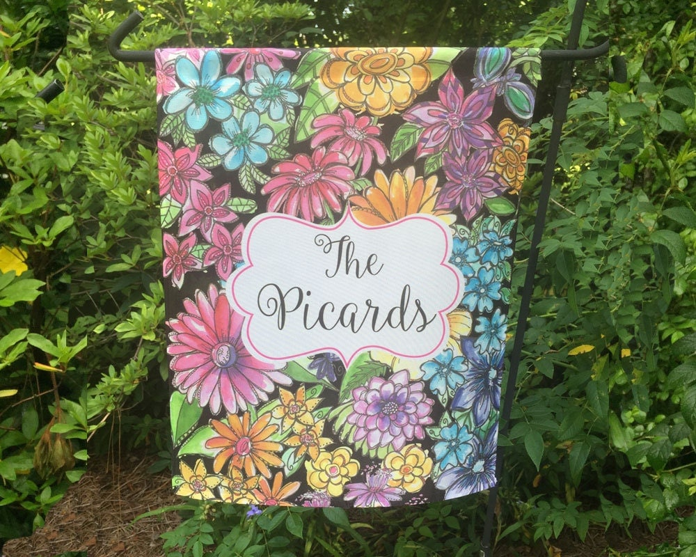 Personalized Garden Flag Exclusive Design House Flag Garden