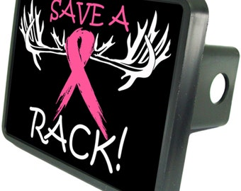 Save A Rack Breast Cancer Trailer Hitch Cover