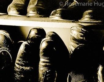 Around The Block - Original Fine Art Photograph - Shoes