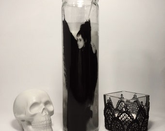 Lydia Deetz Beetlejuice Horror Prayer Candle