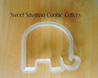 Elephant Cookie Cutter No 3