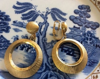 Stunning Gold Tafari Earrings.
