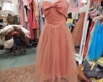 Sweet Tulle Dress  with Rhinestone top