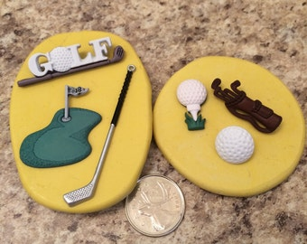 Golf Mold Set silicone