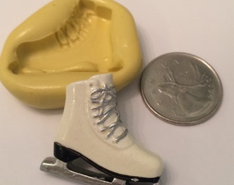 Large Ice Skate Silicone Mold