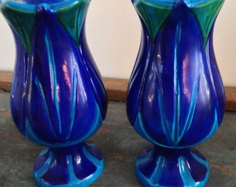 A Pair of Made in Italy for Rosenthal Netter Candlestick Holders
