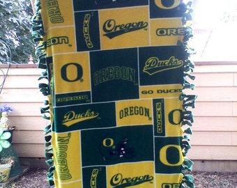 Wheelchair Blanket, Fleece, Oregon Ducks!