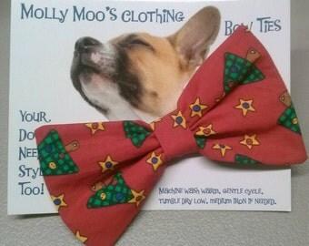 Christmas Collar Bow Tie