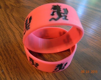 New-  INSANE CLOWN POSSE Hatchetman rubber wristbands (2-piece set)