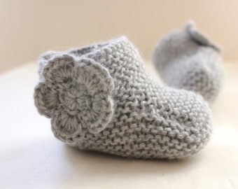Knitting Pattern for Baby Booties (0037) - Permission to Sell Finished Products