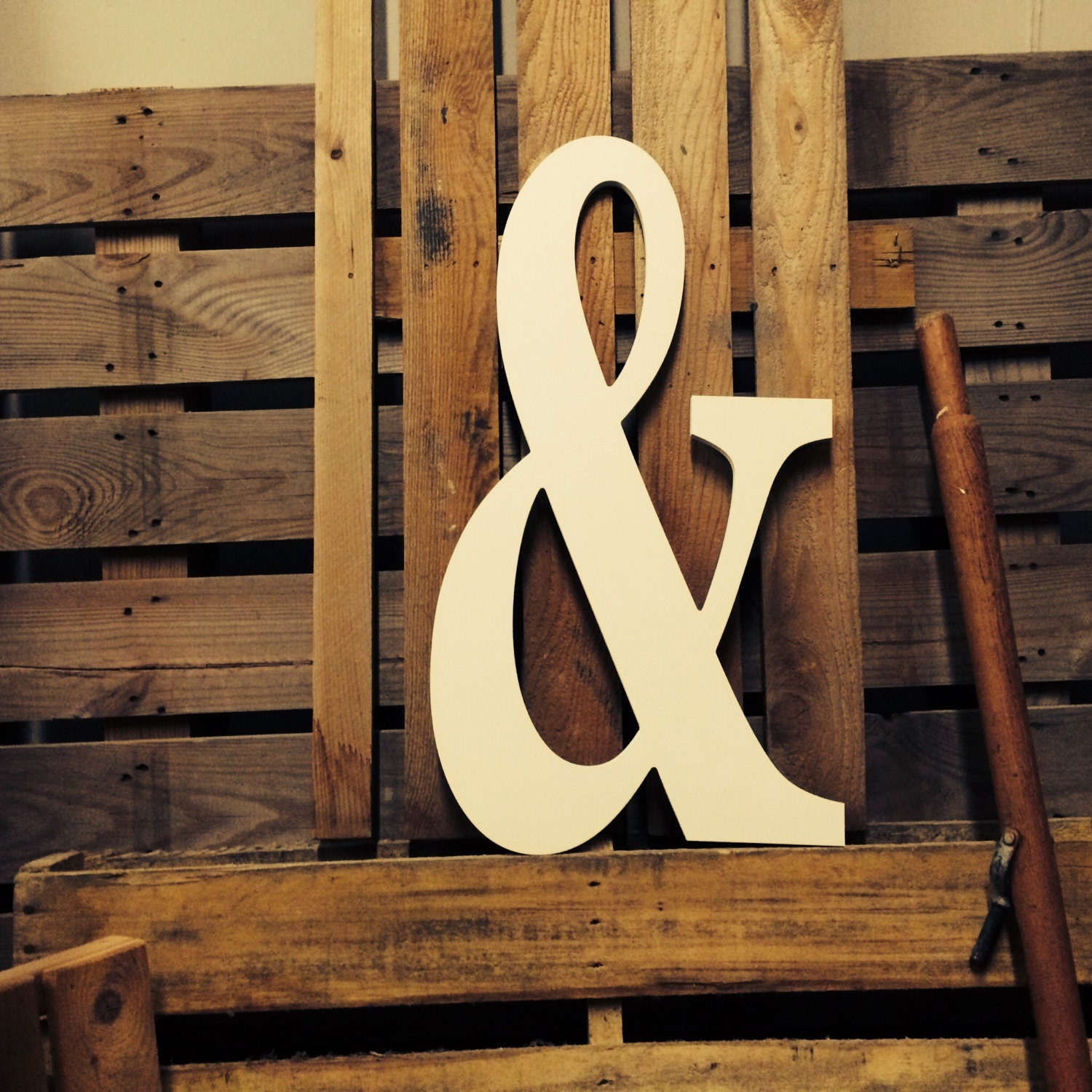 Ampersand custom guestbook wall decor large 24 shown for Ampersand decor
