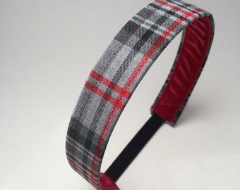 School Uniform Headband- Custom Plaid Uniform Headbands #5