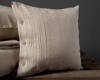 Decorative Gray Pillow Cover - Cushion Cover - Decorative Pillows Covers- Gray Cushions