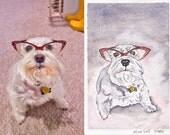 4x6 Pet Portrait