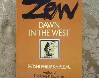 Zen Dawn in the West Vintage Zen Buddhism Book