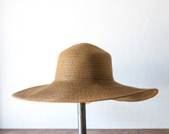 Brown Sun Hat