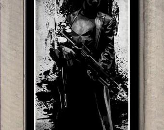 Minimalist Punisher Poster