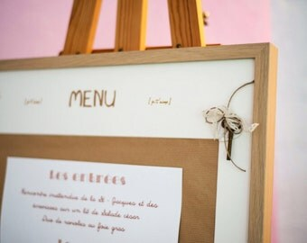 Menu range | Wedding country chic|