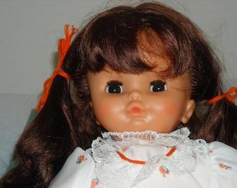 SALE! 55 OFF!!Rare Zapf German Doll/Spielen Die Mitspielen/20' Tall/Early 1970's/Kinder Puppen/Auburn Hair/Sleep Eyes/not played with/