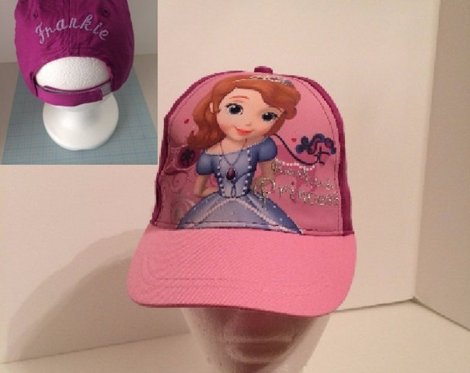 Disney Sofia the First Baseball Cap - Girls  Personalized