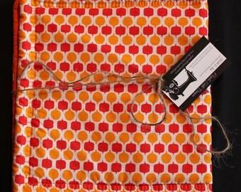 Apples & Oranges Short Table Runner-Hot Pad-Eco-friendly-Reversible