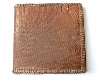 Vintage Lizard Wallet
