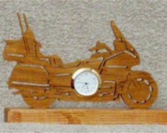 Goldwing Motorcycle Clock