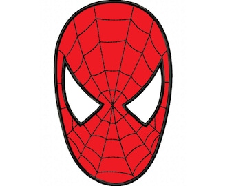 Spiderman face logo - photo#51