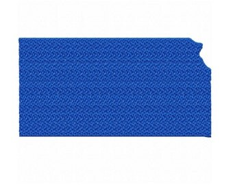 USA State Kansas Fill Machine Embroidery DESIGN NO. 521