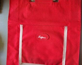 Vintage Ralfeaux Canvas Tote Laptop Bag