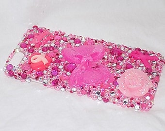 Breast cancer Awarness bling phone case