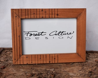 "4x6"" Picture Frame // Arrow + Dot"