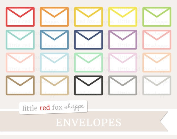 Envelope Clipart Office Clip Art Mail Letter By
