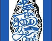 "15-10034 Hand-Painted ""Be Kind Or Be Quiet"" Rock"