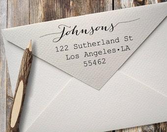 Return Address Stamp, Custom Address Stamp, Personalized Address Stamp, Custom Rubber Stamp, Self Inking Address Stamp, Housewarming Gift