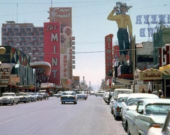 Las Vegas Downtown 1962
